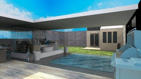 Poolhouse - Modern - Garden - by dancergirl1243