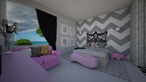white charm - Kids room - by flacazarataca_1