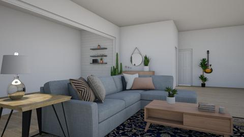 Wide Space Living - Living room - by cutebaxter123