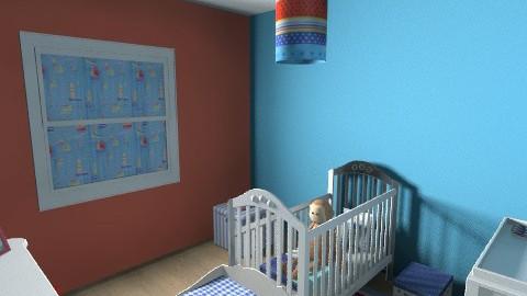boys room - Modern - Bedroom - by kayleighsteel