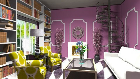 chic living room - Glamour - Living room - by dancergirl1243