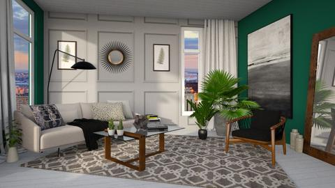2019 Trendy Living Room - Living room - by Brianna_322