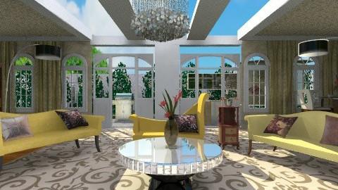 My Elegant Living Room - Glamour - Bedroom - by wiljun