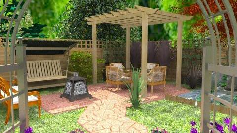 Garden's corner - Classic - Garden - by Bibiche