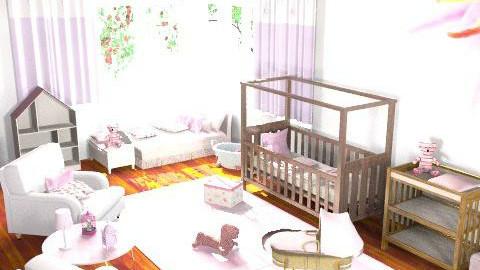 Baby Niece Nursery - Minimal - Kids room - by oliricescarraman