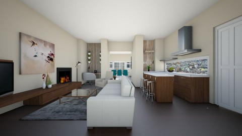 Classic Dutch House - Living room - by stephaniedelios1992