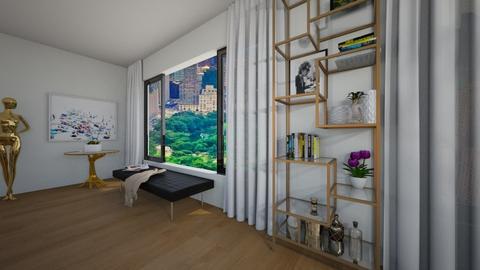 NY - Living room - by flacazarataca_1