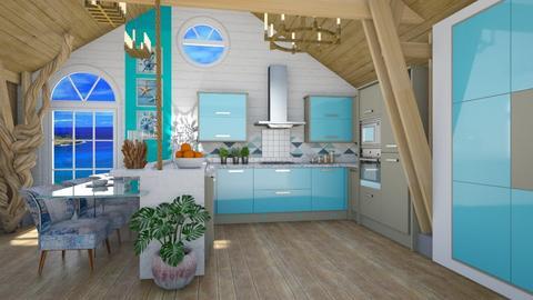 cozinha marinha - by soralobo