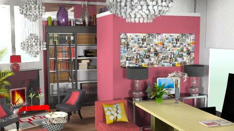funky office - Modern - Office - by dominicjames
