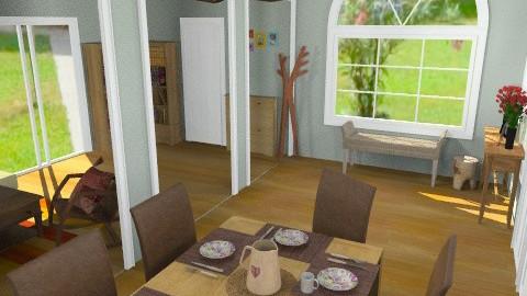 Csárdalapos 2 - Country - Dining room - by Sziszi