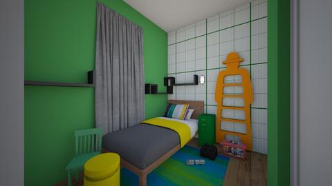 kisd room 2832 - Kids room - by arianawolicki