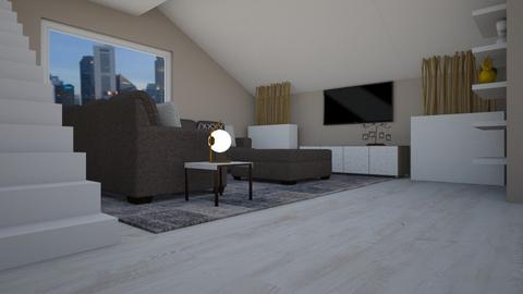 IP Terrazzo - Living room - by Addie Grace