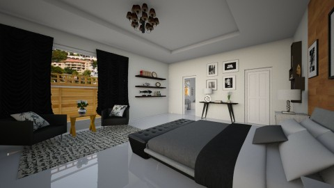 suite full  - Modern - Bedroom - by Nkanyezi Nhezi Gumede