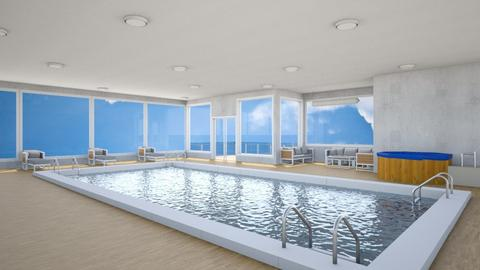 Indoor Pool - Modern - by Psweets