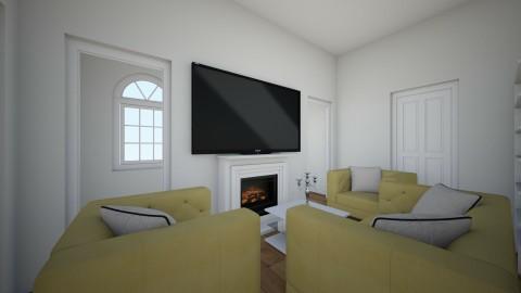 Living room - by NeshelleNewburn