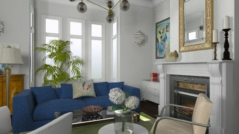 Rowhouse Living Room - Eclectic - Living room - by LizyD