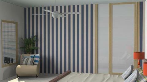 beach house - Feminine - Bedroom - by SarahLou