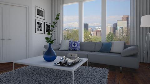 White - Living room - by Tuitsi