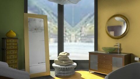 minimal apartment - Minimal - Bathroom - by mrschicken
