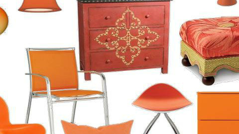 Pantone Tangerine Tango color of 2012 - Global - Home accessories - by mydeco Insider