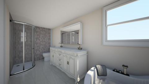master bath - Bathroom - by kristiderev