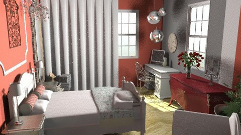 for katelynn - Eclectic - Bedroom - by calu13