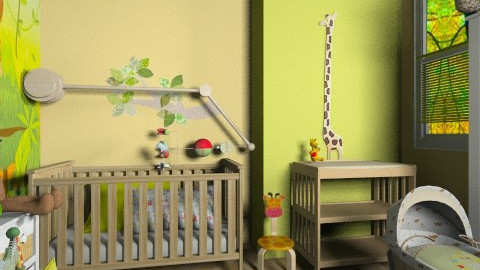 Nursery Contest - Kids room - by RonRon