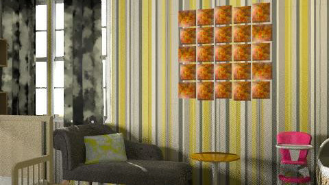 yellow - Eclectic - Kids room - by lisa323com