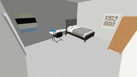 Evans Room - Bedroom - by Spencer Raysin