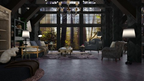 forest home - Modern - Living room - by sometimes i am here