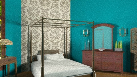 Bedroom in Blue - Classic - Bedroom - by egrimsley