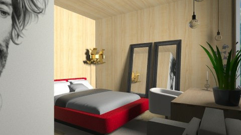 Fuma Chambre - Minimal - Bedroom - by 3rdfloor