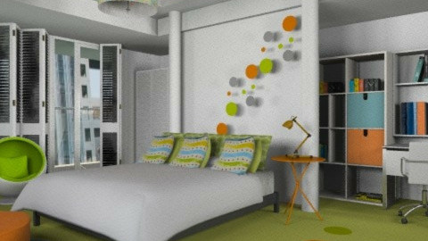 Teen girl room - Modern - Bedroom - by liling