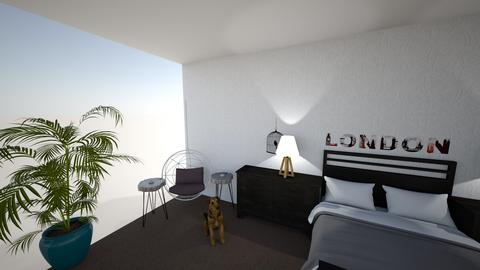 Ava Hardy - Bedroom - by doraldragons