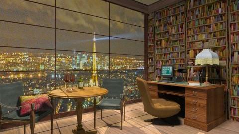 office night - Office - by Patricia Mari Rosario