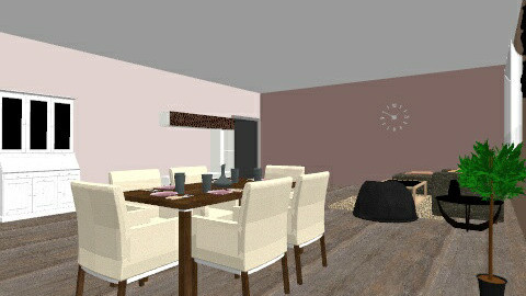 Diing room - Dining room - by Celine Muchemble