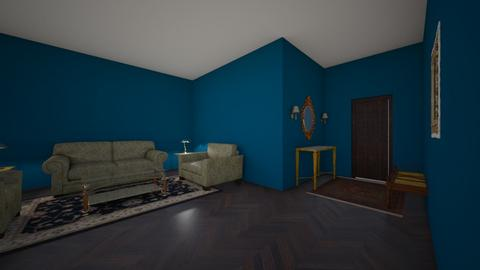 DRAMA - Vintage - Living room - by UnintentionalAwkward