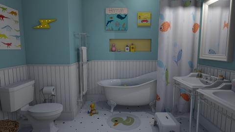 Kids bathroom - Classic - Bathroom - by Annathea