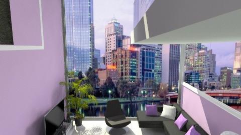 purple room - Living room - by megi94