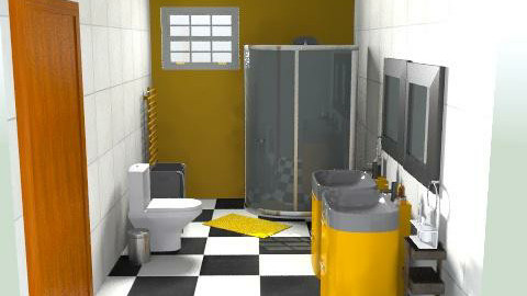 Bathroom rh - Minimal - Bathroom - by jodiangel