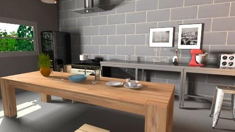 cocina tia - Kitchen - by cibelles
