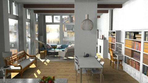 Stockholm Loft - Modern - Living room - by johannaviola87
