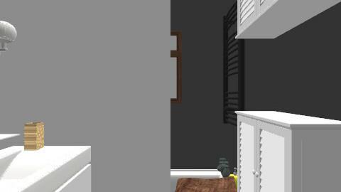 salle de bain/ plan 2 - Retro - Bathroom - by Yellow1806