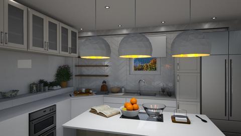 1062 - Modern - Kitchen - by Riki Bahar Elbaz