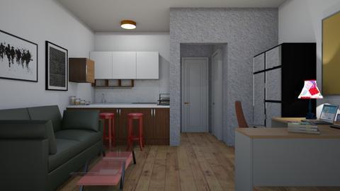 Studio Flat 2 - Classic - Living room - by colorful_eye