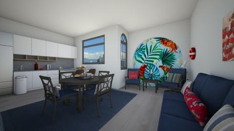 Tropical - Living room - by TasiaClarke