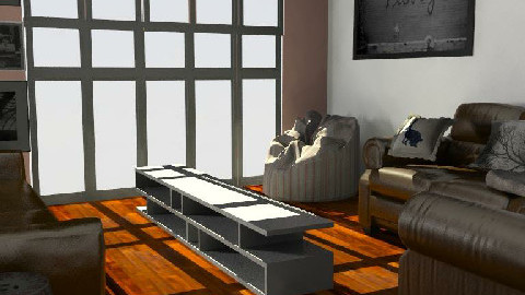 Lounge - Living room - by Caroline Lily