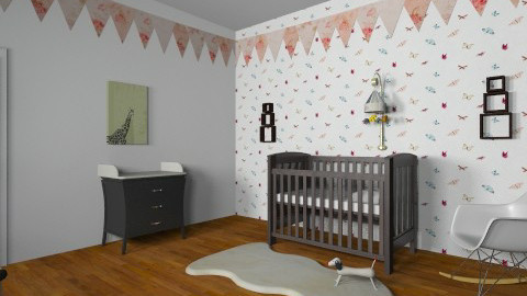 nursery  - Vintage - Kids room - by bethcot