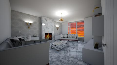 bright and bueatiful  - Living room - by MSK
