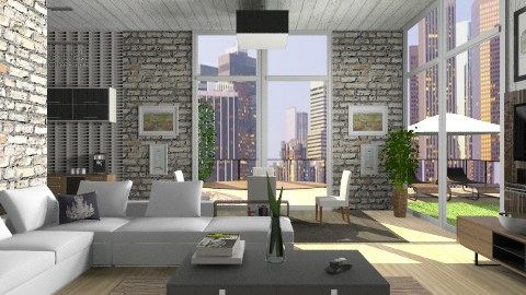 Los Angeles Lux - Modern - Living room - by vesperart